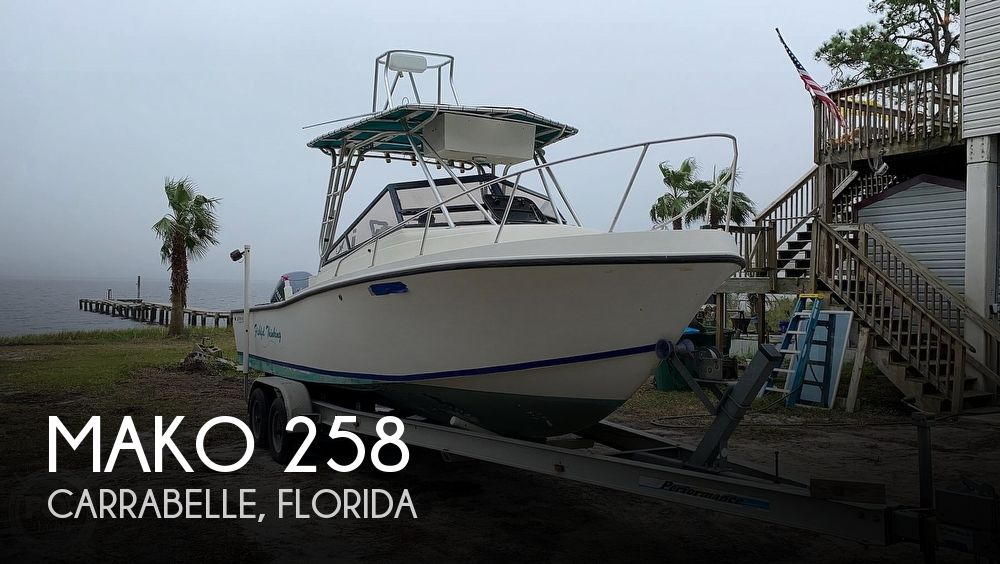 1985 Mako boat for sale, model of the boat is 258 & Image # 1 of 40