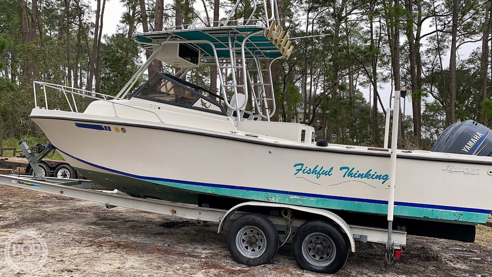 1985 Mako boat for sale, model of the boat is 258 & Image # 6 of 40