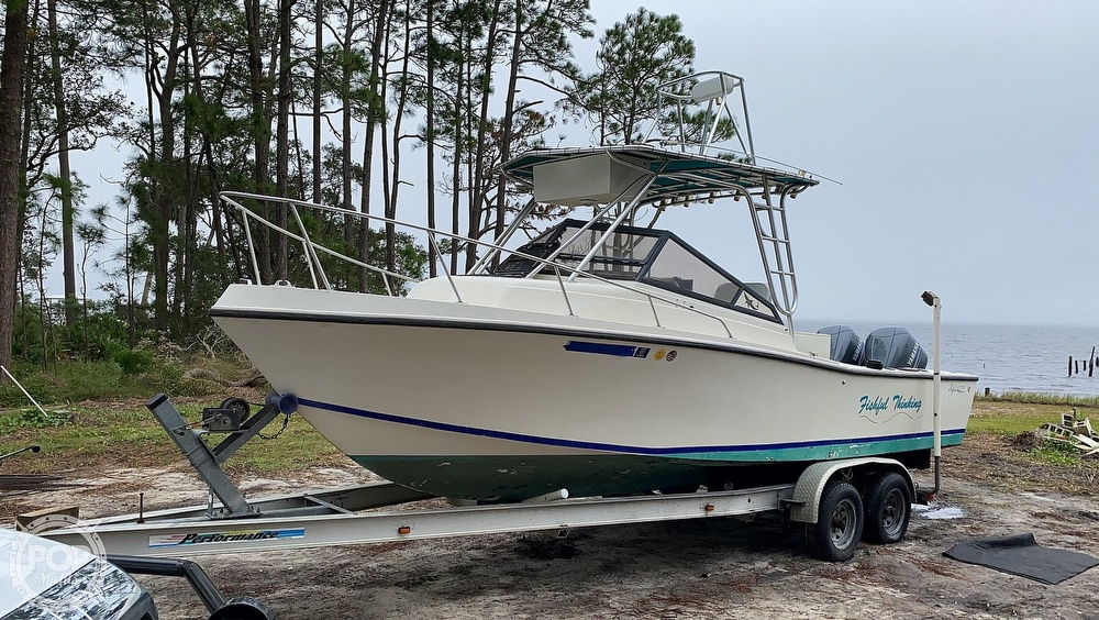 1985 Mako boat for sale, model of the boat is 258 & Image # 10 of 40