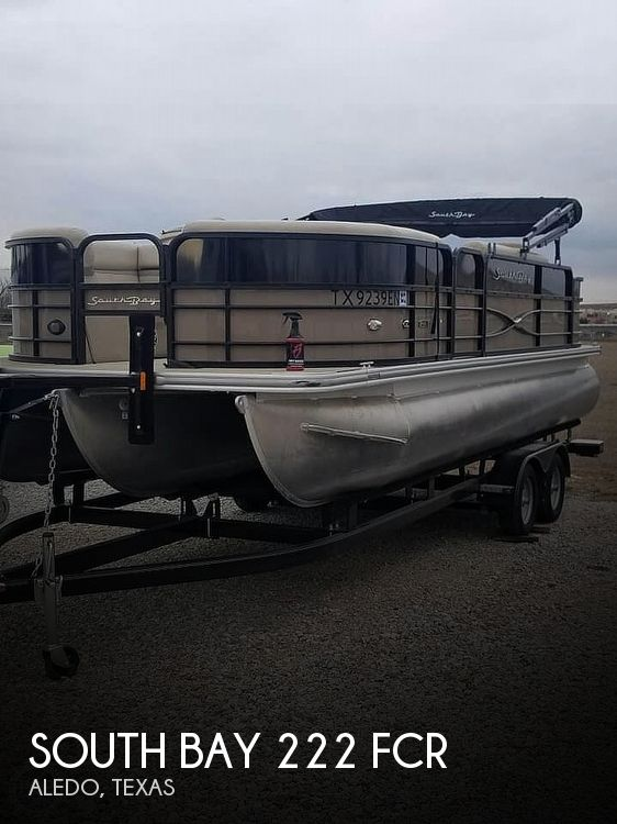 Used Pontoon Boats For Sale by owner | 2019 South Bay 222 FCR