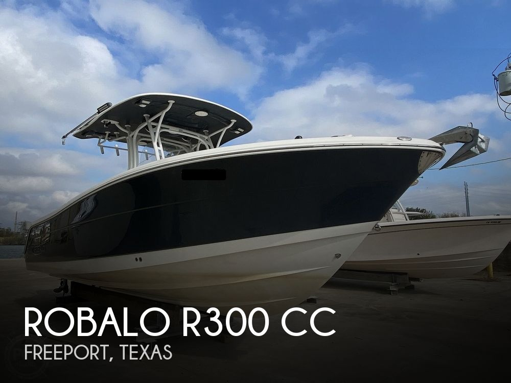 2016 ROBALO R300 CC for sale