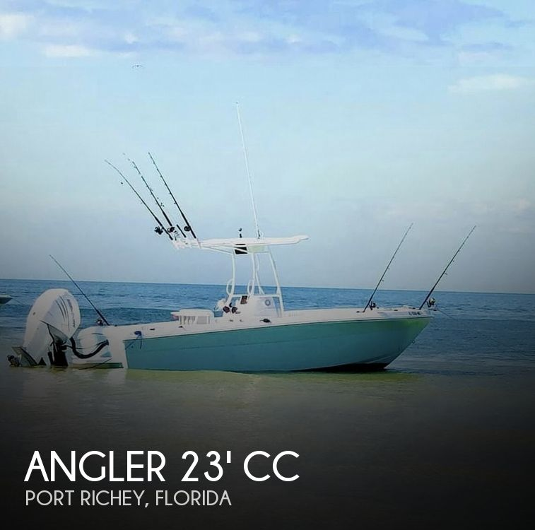 Used Angler Boats For Sale by owner | 2006 Angler 23' CC