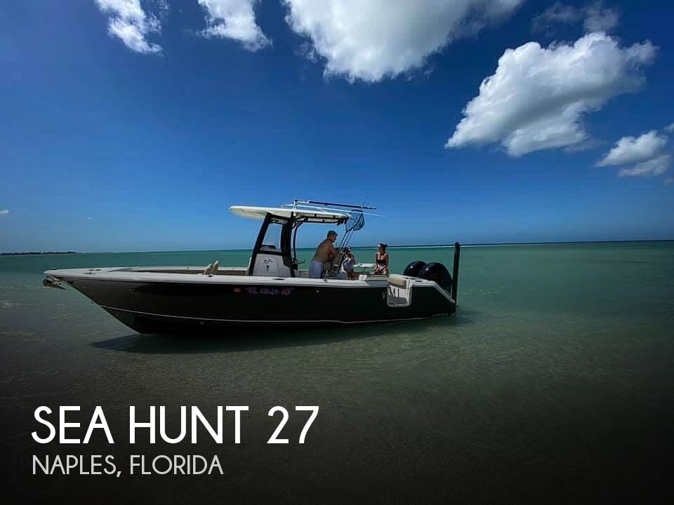 Used Sea Hunt Gamefish Boats For Sale by owner | 2017 27 foot Sea Hunt Gamefish