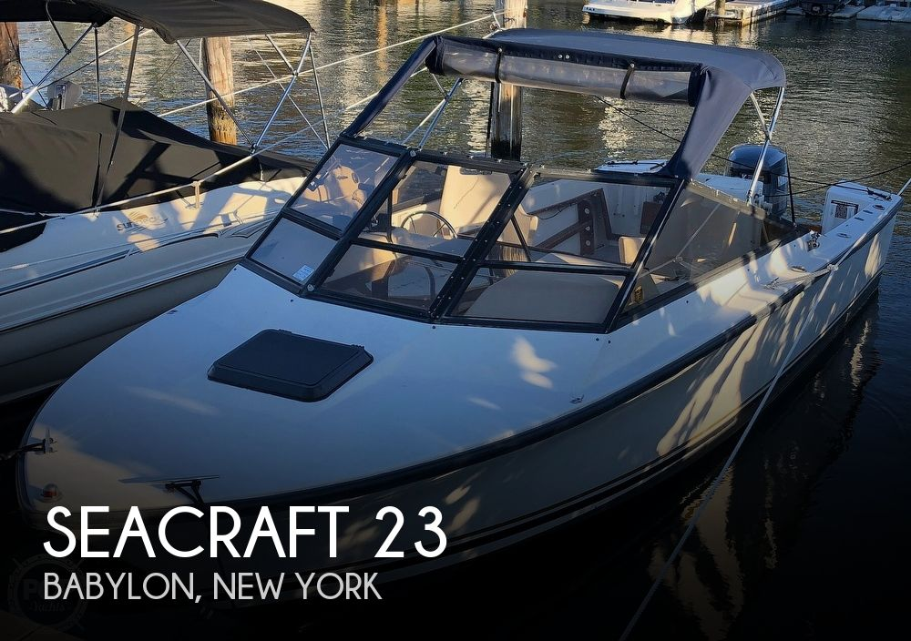 1989 Seacraft boat for sale, model of the boat is 23 & Image # 1 of 41