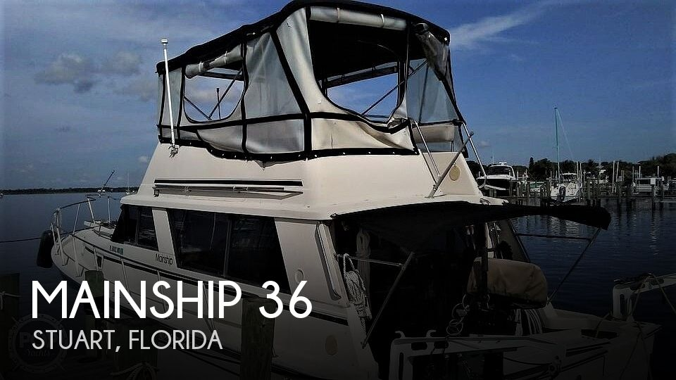 1987 Mainship boat for sale, model of the boat is 36 DC Sedan & Image # 1 of 40