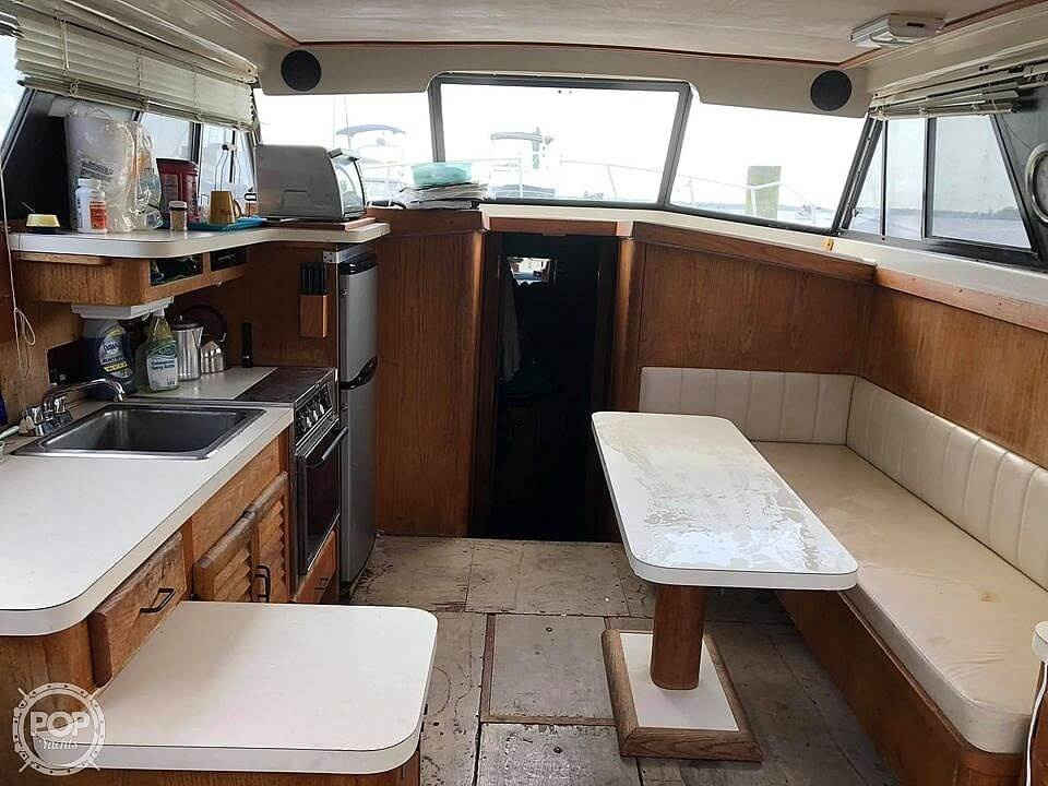 1987 Mainship boat for sale, model of the boat is 36 DC Sedan & Image # 17 of 40