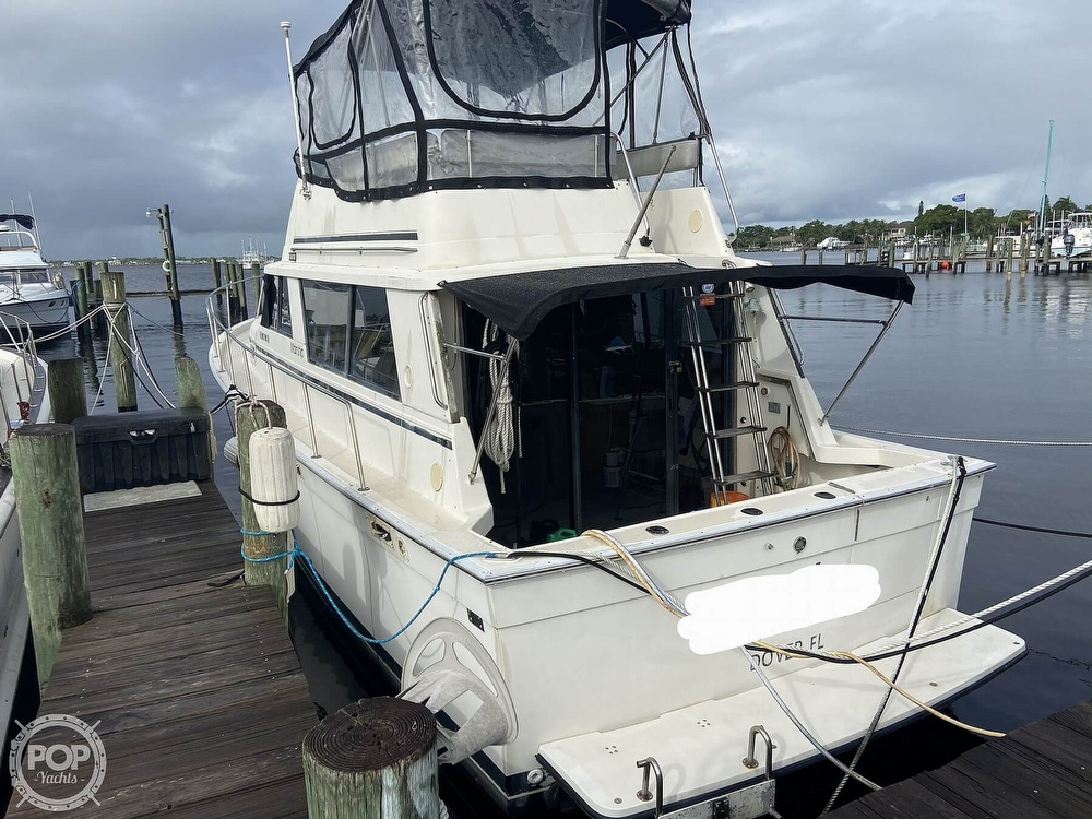 1987 Mainship boat for sale, model of the boat is 36 DC Sedan & Image # 27 of 40
