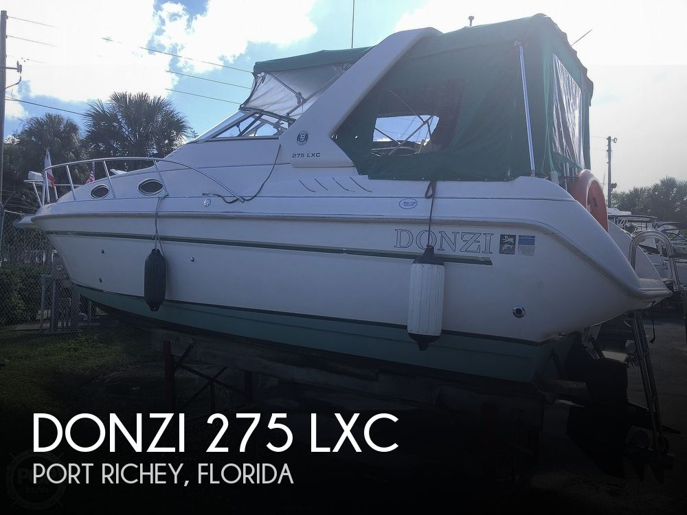 1996 Donzi boat for sale, model of the boat is 275 LXC & Image # 1 of 40