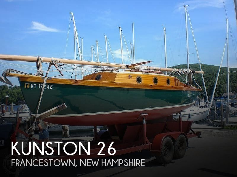 Used Boats For Sale by owner   1939 Kunston 26