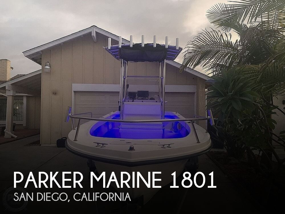 2005 Parker Marine boat for sale, model of the boat is 1801 & Image # 1 of 41