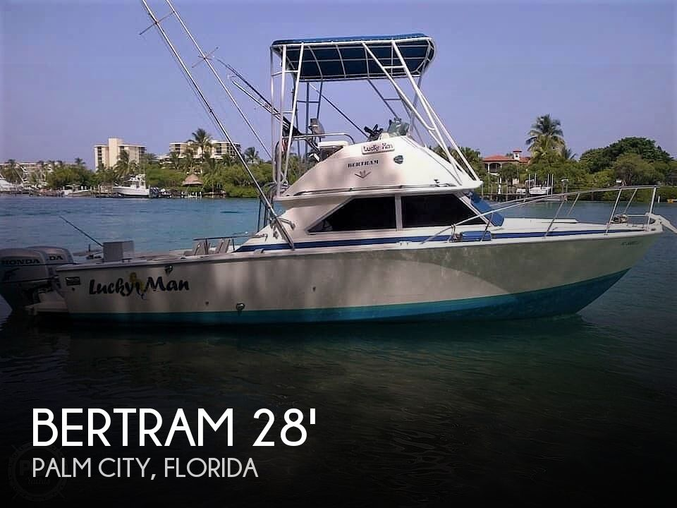 Used BERTRAM Fishing boats For Sale by owner | 1982 Bertram 28