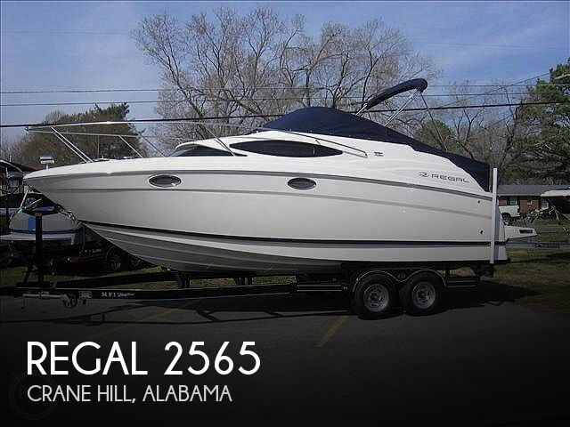 Used Boats For Sale in Huntsville, Alabama by owner | 2007 Regal 2565