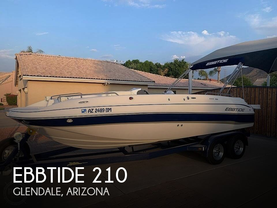 Used Ebbtide Deck Boats For Sale by owner | 2007 Ebbtide 210SS Funcruiser