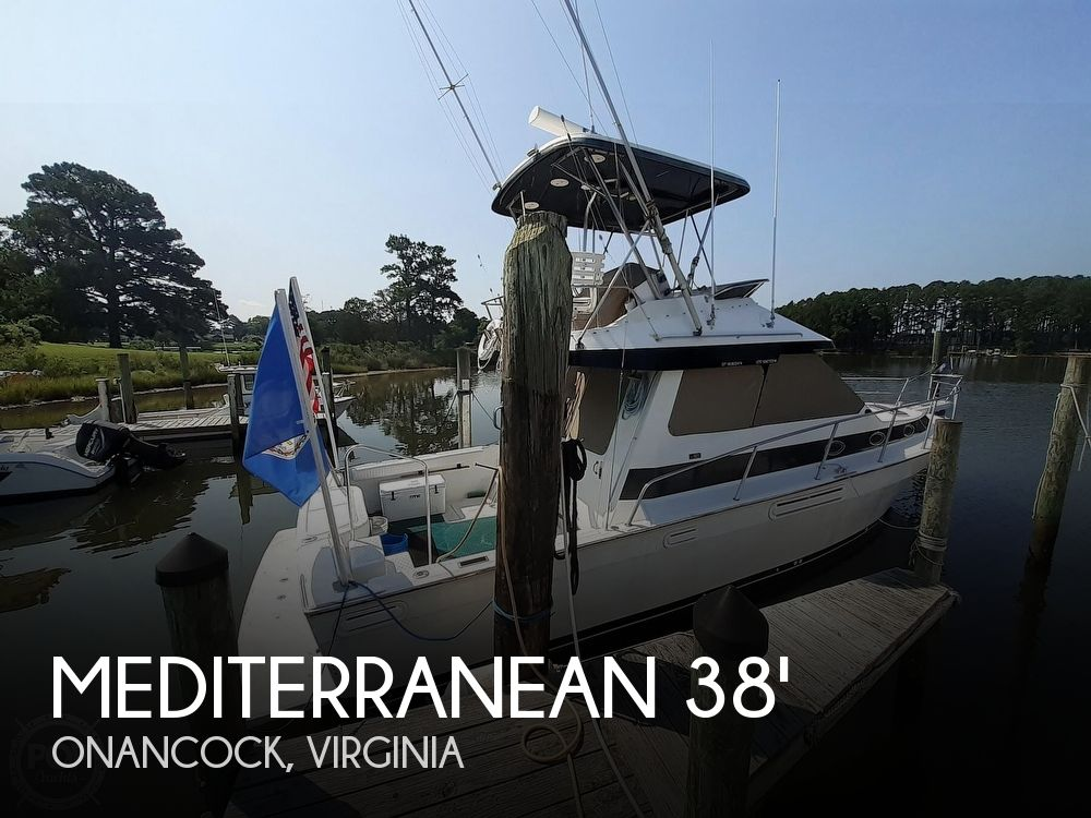 1993 Mediterranean boat for sale, model of the boat is 38' & Image # 1 of 40