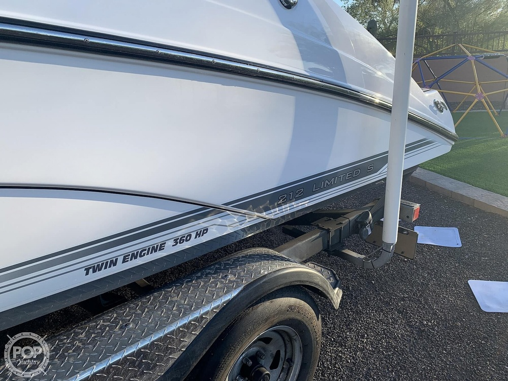 2017 Yamaha boat for sale, model of the boat is 212 Limited S & Image # 34 of 40
