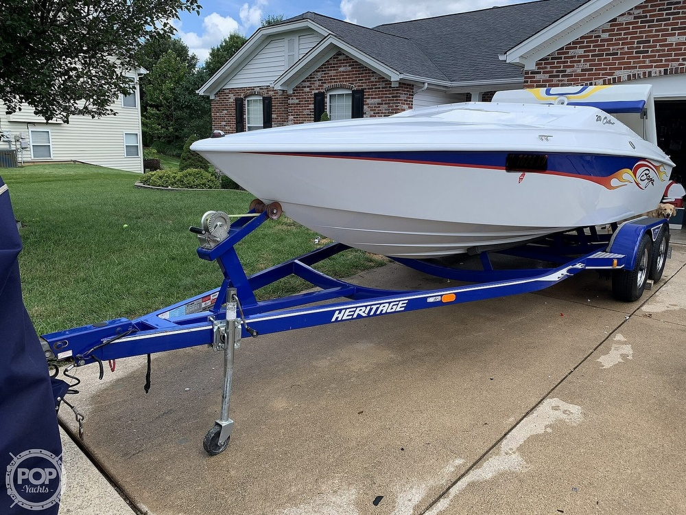 2003 Baja boat for sale, model of the boat is 20 Outlaw & Image # 4 of 41