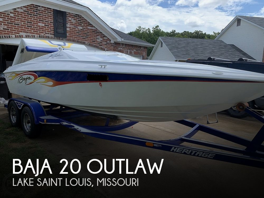 2003 Baja boat for sale, model of the boat is 20 Outlaw & Image # 1 of 41