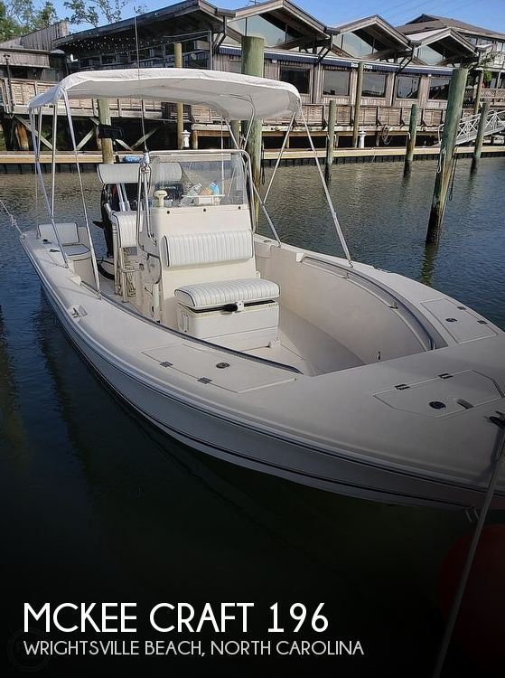 Used Mckee craft Boats For Sale by owner | 2006 Mckee Craft 196 Marathon CC