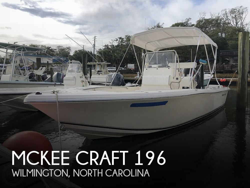 2006 McKee Craft boat for sale, model of the boat is 196 Marathon CC & Image # 1 of 41