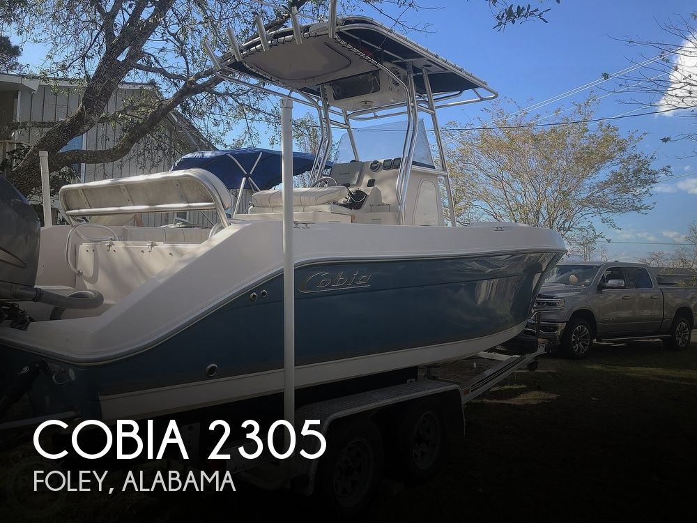 2007 Cobia boat for sale, model of the boat is 2305 & Image # 1 of 41