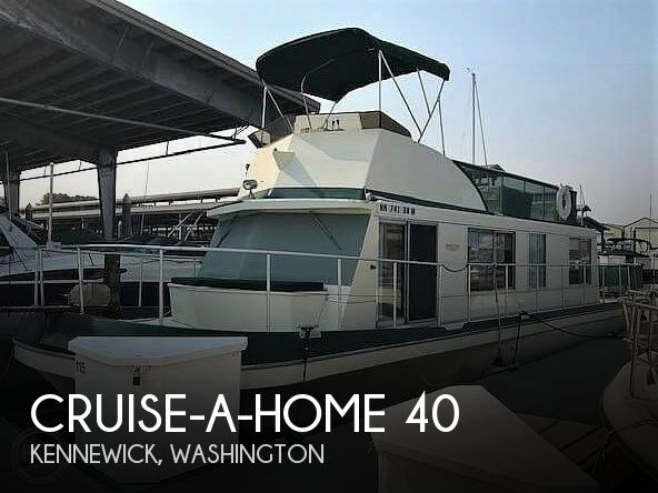 Used Boats For Sale in Kennewick, Washington by owner | 1977 Cruise-a-Home 40