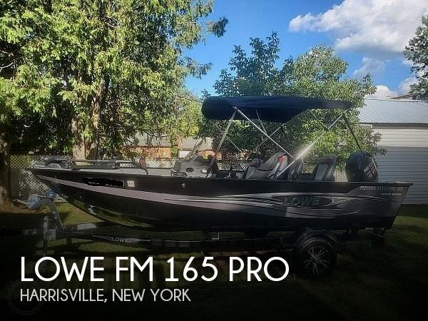 2018 Lowe boat for sale, model of the boat is FM 165 Pro & Image # 1 of 41