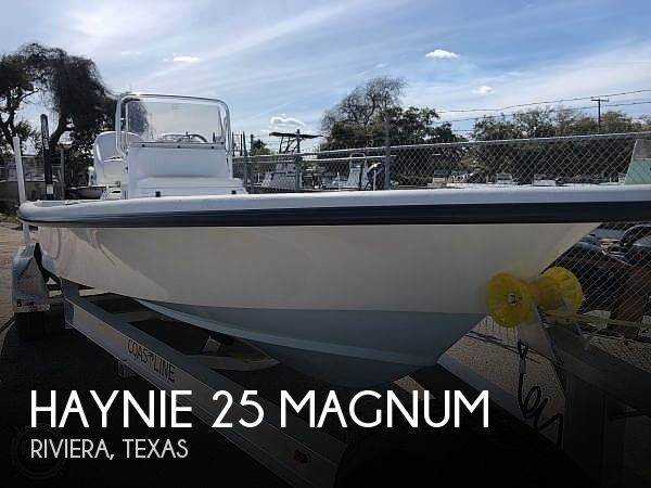 Used Boats For Sale in Corpus Christi, Texas by owner | 2020 Haynie 25 Magnum