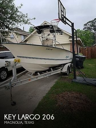 Used Key largo Boats For Sale by owner | 2003 Key Largo 206
