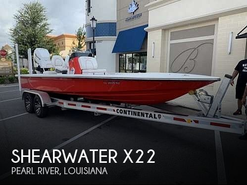 Used Boats For Sale in Gulfport, Mississippi by owner | 2017 Shearwater X22