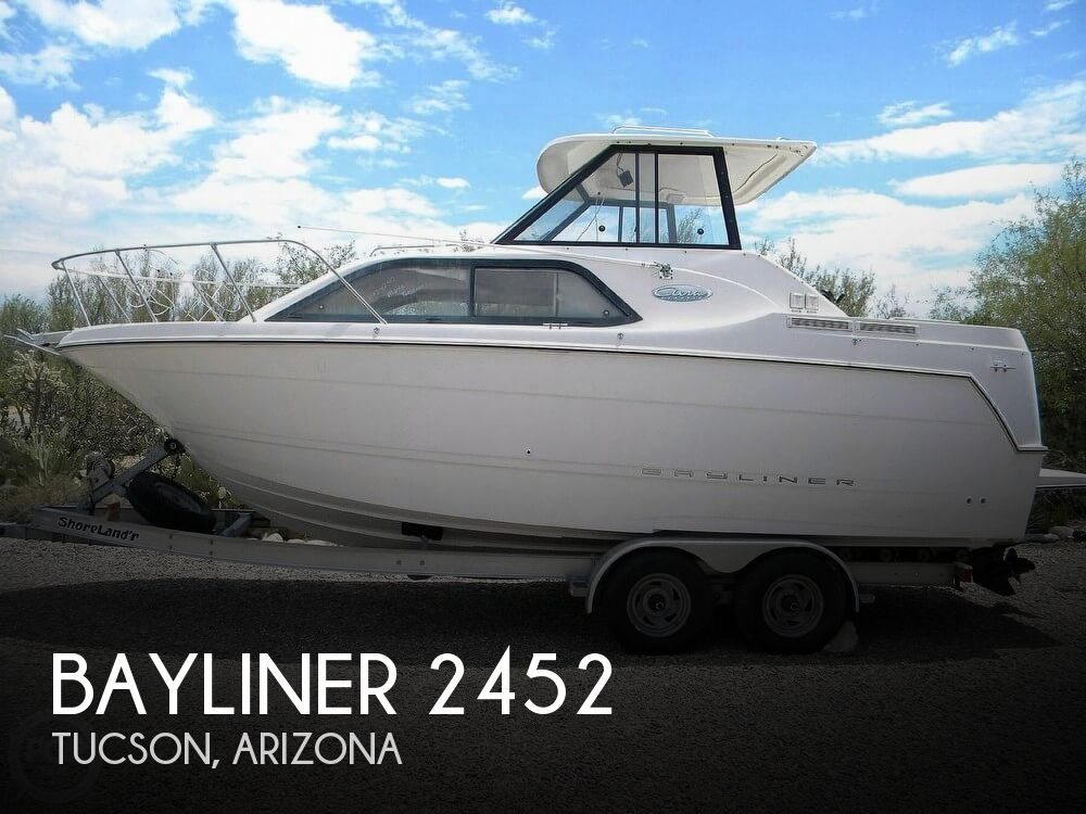 2001 Bayliner boat for sale, model of the boat is 2452 Ciera Classic & Image # 1 of 40