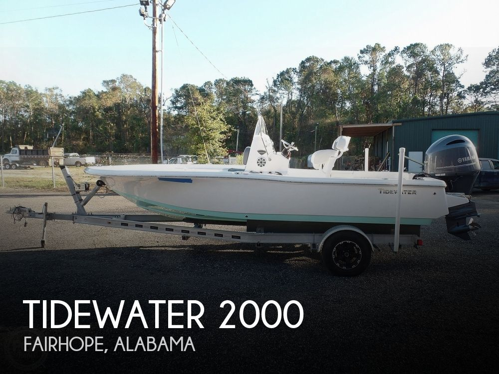 2017 Tidewater boat for sale, model of the boat is Carolina Bay 2000 & Image # 1 of 40