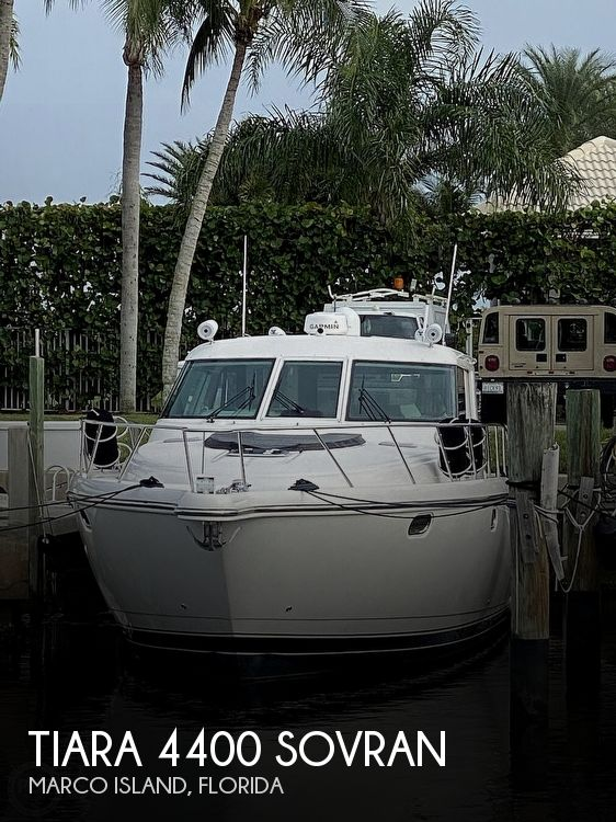 Used Boats For Sale in Naples, Florida by owner | 2006 Tiara 4400 Sovran