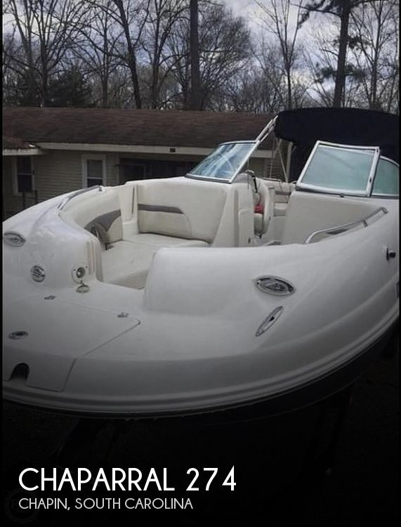 Used Chaparral Boats For Sale in Spartanburg, South Carolina by owner | 2005 Chaparral sunesta 274