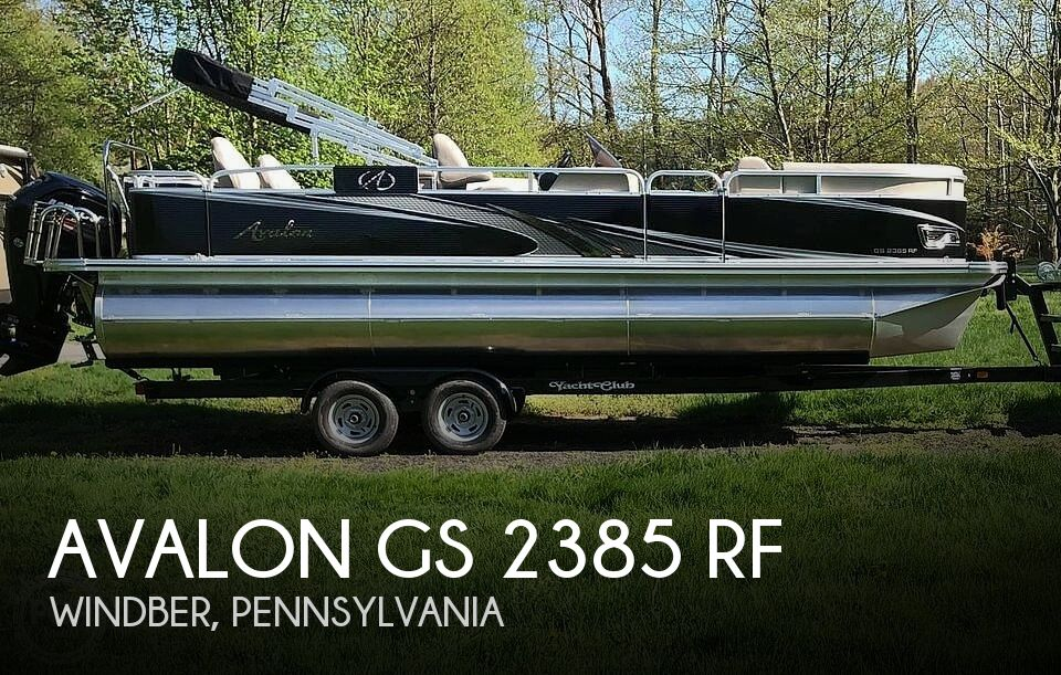 Used Avalon Boats For Sale by owner | 2018 Avalon 2385 RF
