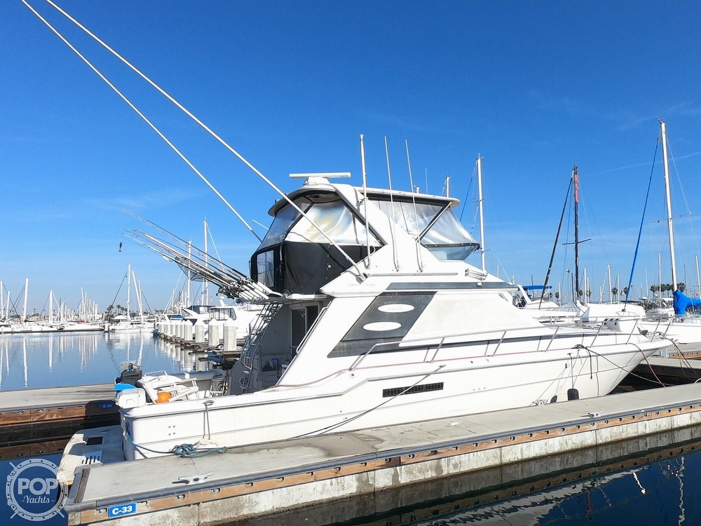 1988 Sea Ray boat for sale, model of the boat is 430 Convertible & Image # 4 of 40