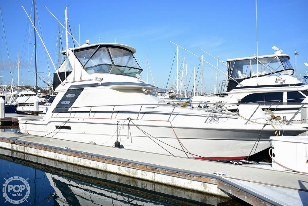 1988 Sea Ray boat for sale, model of the boat is 430 Convertible & Image # 36 of 40