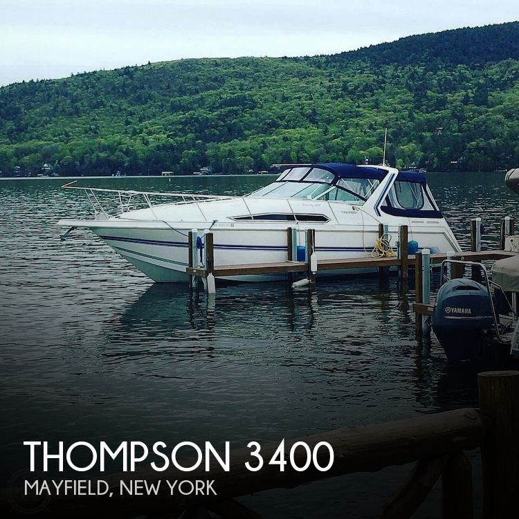 1994 Thompson boat for sale, model of the boat is Santa Cruz 3400 & Image # 1 of 12