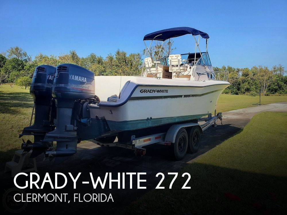 1999 Grady-White boat for sale, model of the boat is 272 Sailfish & Image # 1 of 40