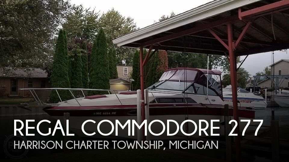 Used Regal Boats For Sale in Michigan by owner | 1987 Regal Commodore 277