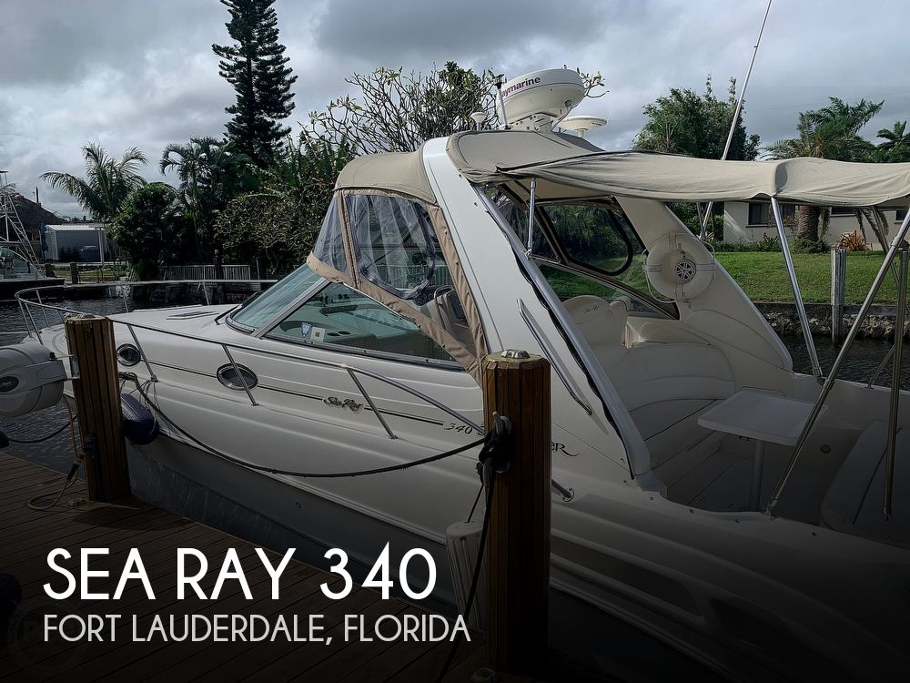2000 Sea Ray boat for sale, model of the boat is 340 Sundancer & Image # 1 of 40
