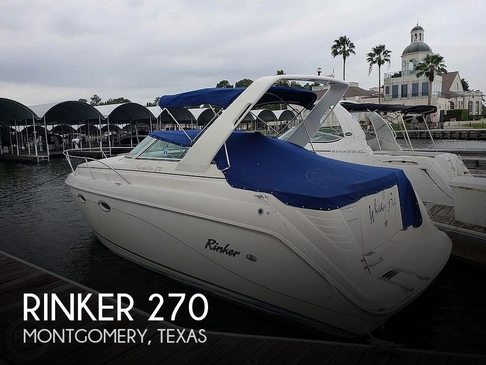 Used Rinker 270 Boats For Sale by owner | 2000 Rinker 270 Fiesta Vee