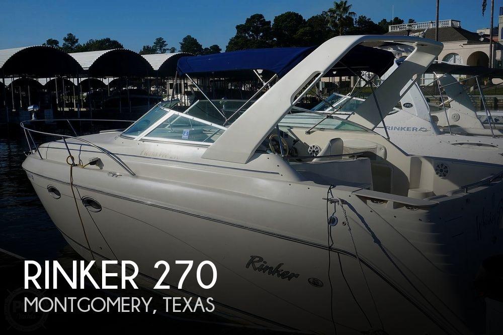2000 Rinker boat for sale, model of the boat is 270 Fiesta Vee & Image # 1 of 40