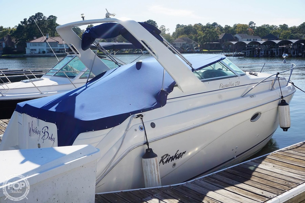 2000 Rinker boat for sale, model of the boat is 270 Fiesta Vee & Image # 15 of 40