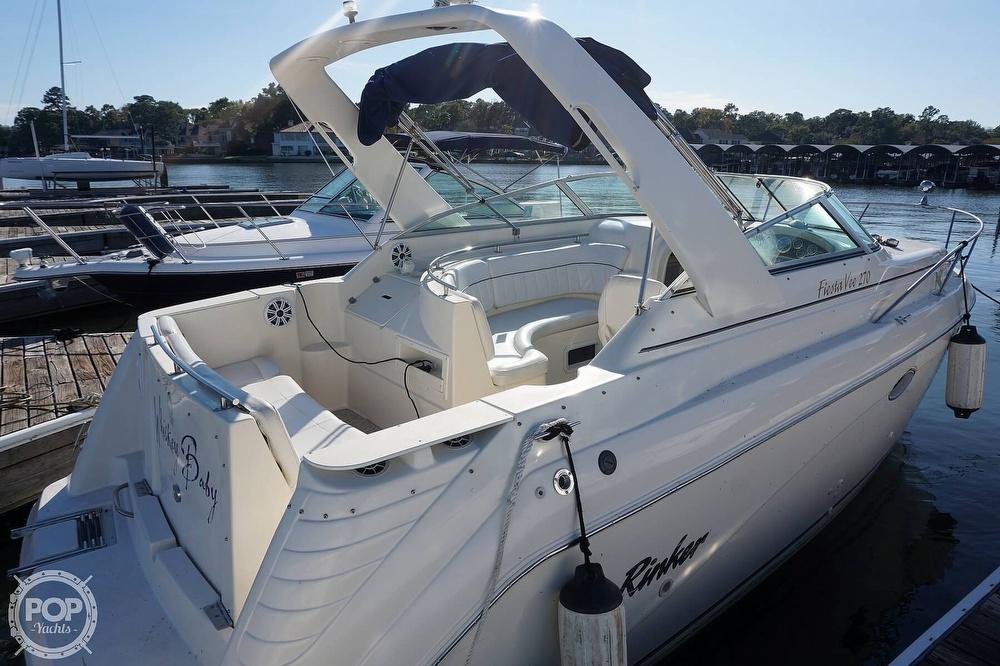 2000 Rinker boat for sale, model of the boat is 270 Fiesta Vee & Image # 20 of 40
