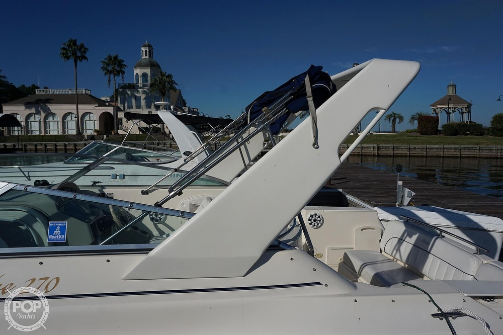 2000 Rinker boat for sale, model of the boat is 270 Fiesta Vee & Image # 32 of 40