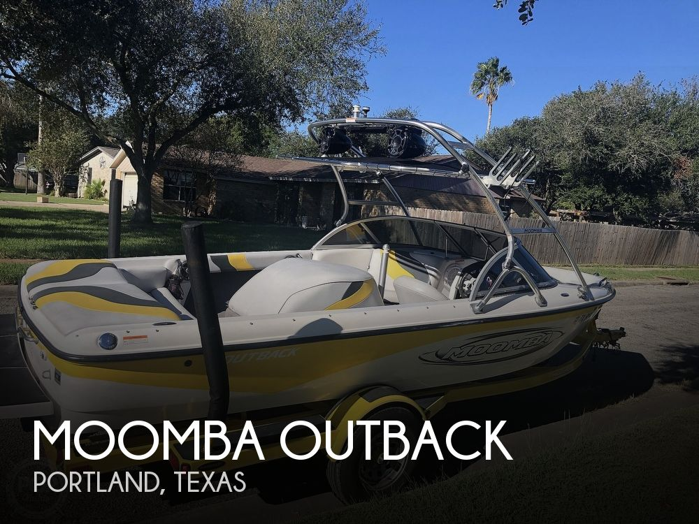 2007 Moomba boat for sale, model of the boat is Outback & Image # 1 of 40