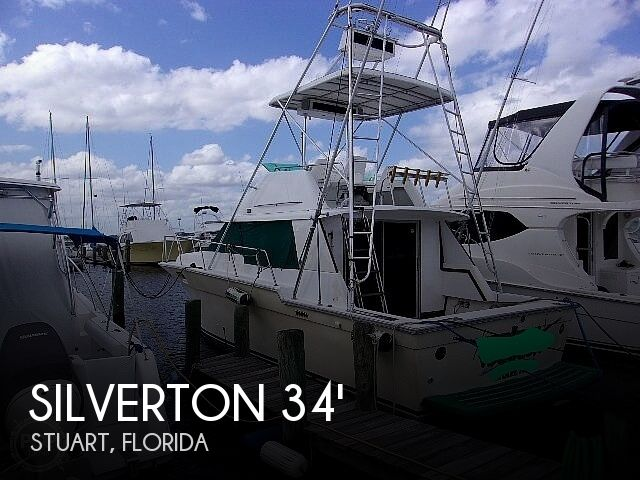 1987 Silverton boat for sale, model of the boat is Convertible & Image # 1 of 40