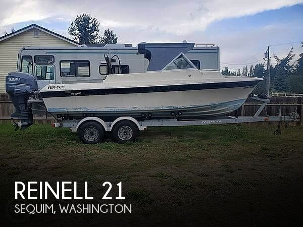 1968 Reinell boat for sale, model of the boat is 21 & Image # 1 of 6