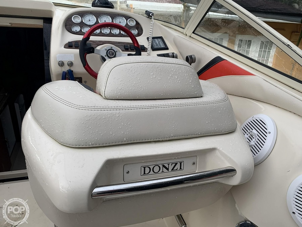 1996 Donzi boat for sale, model of the boat is 38 ZX & Image # 7 of 40