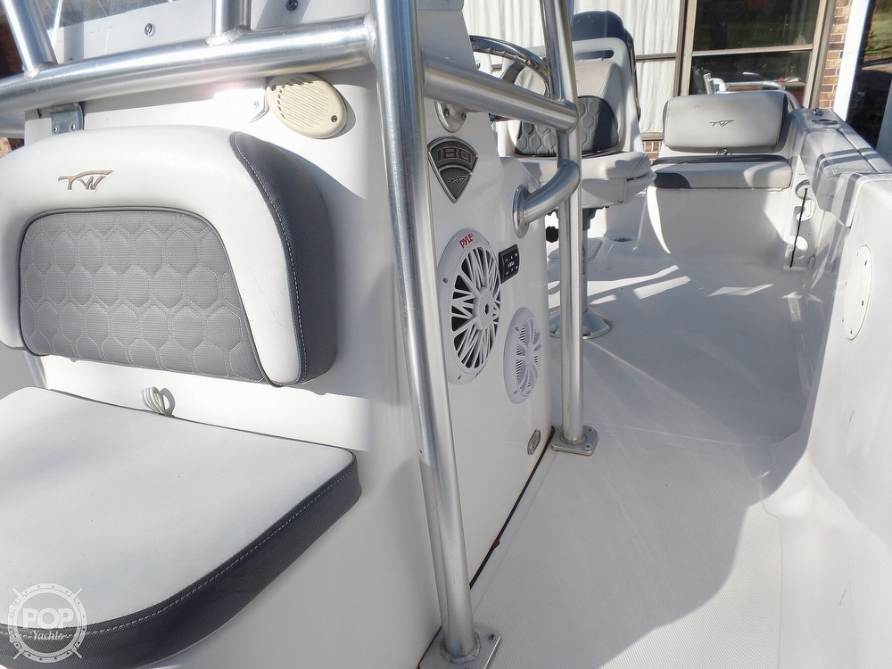 2017 Tidewater boat for sale, model of the boat is 180cc & Image # 23 of 40
